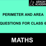 Perimeter And Area Questions For Class 6