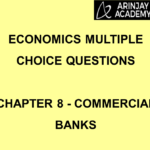 Economics Multiple Choice Questions - Chapter 8 - Commercial Banks