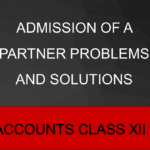 Admission Of A Partner Problems And Solutions