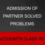 Admission Of Partner Solved Problems