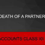 Death Of A Partner Accounts