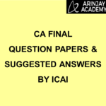 ca final question papers with suggested answers