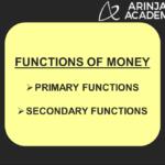 functions of money in economics