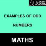 examples of odd numbers