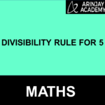 Divisibility rule for 5