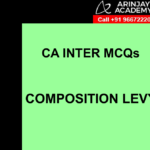 CA Inter MCQs GST - Composition Levy