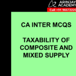 Taxability of Composite and Mixed Supply
