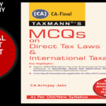CA Final Direct Tax MCQs Book