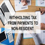 Withholding Tax from Payments to Non-resident