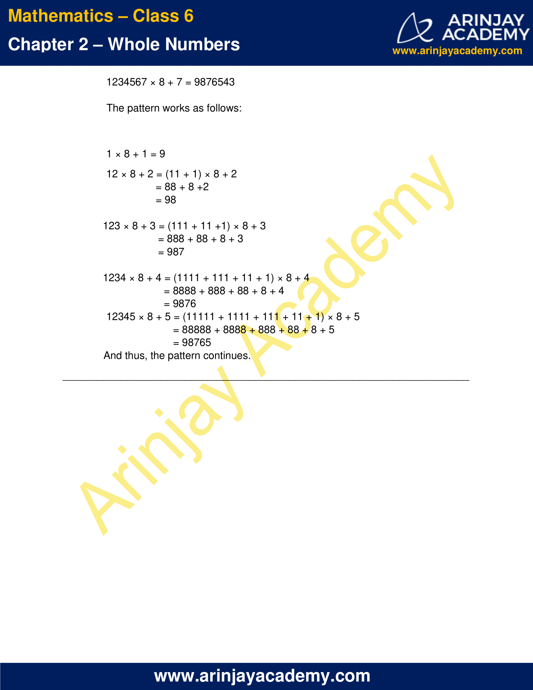 Class 6 Maths NCERT Solutions Chapter 2 Exercise 2.3 image 3