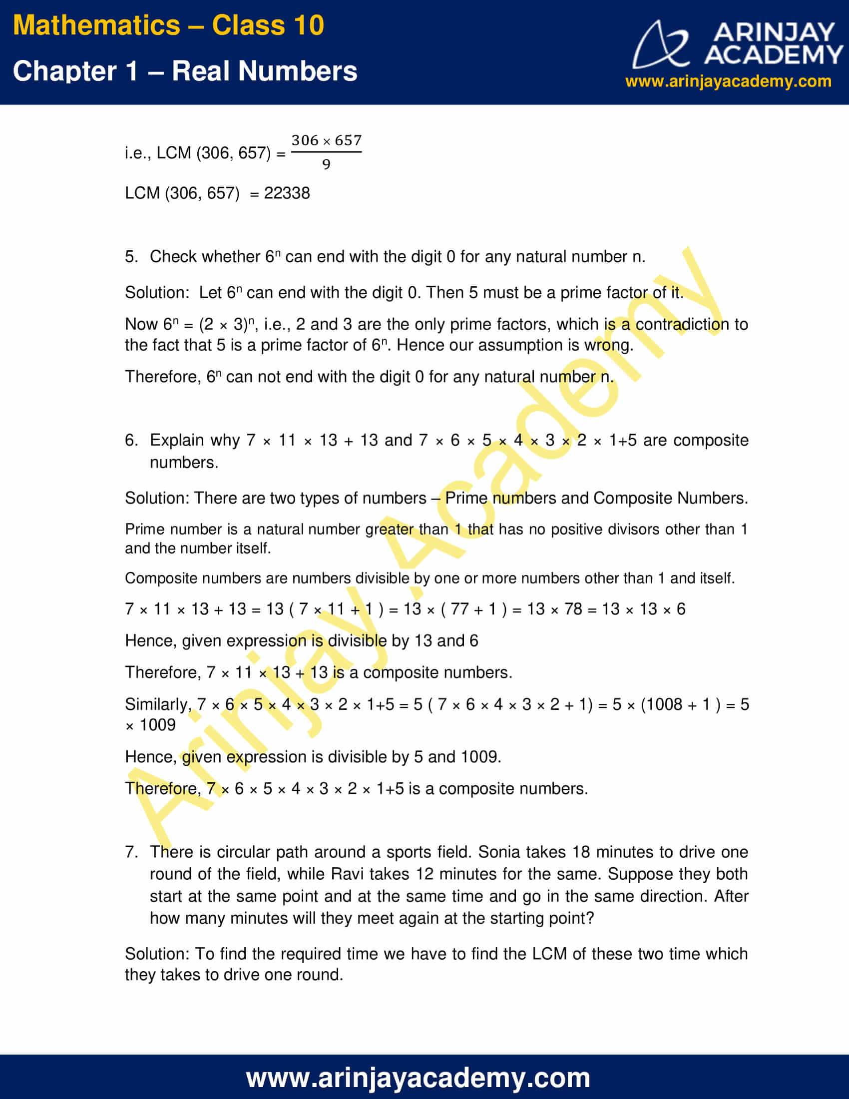 NCERT Solutions For Class 10 Maths Chapter 1 Exercise 1.2 part 3