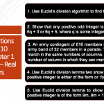 NCERT Solutions For Class 10 Maths Chapter 1 Exercise 1.1 – Real Numbers