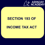 Section 193 of Income Tax Act