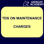 TDS on maintenance charges