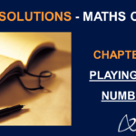 NCERT Solutions for Class 6 Maths Chapter 3 - Playing with Numbers
