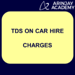 TDS on car hire charges