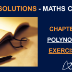 NCERT Solutions For Class 10 Maths Chapter 2 Exercise 2.1