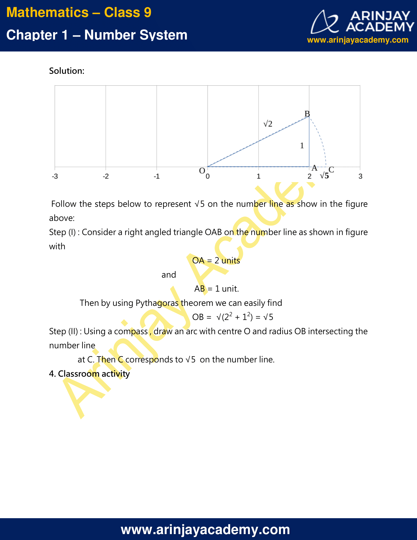 NCERT Solutions For Class 9 Maths Chapter 1 Exercise 1.2 image 2