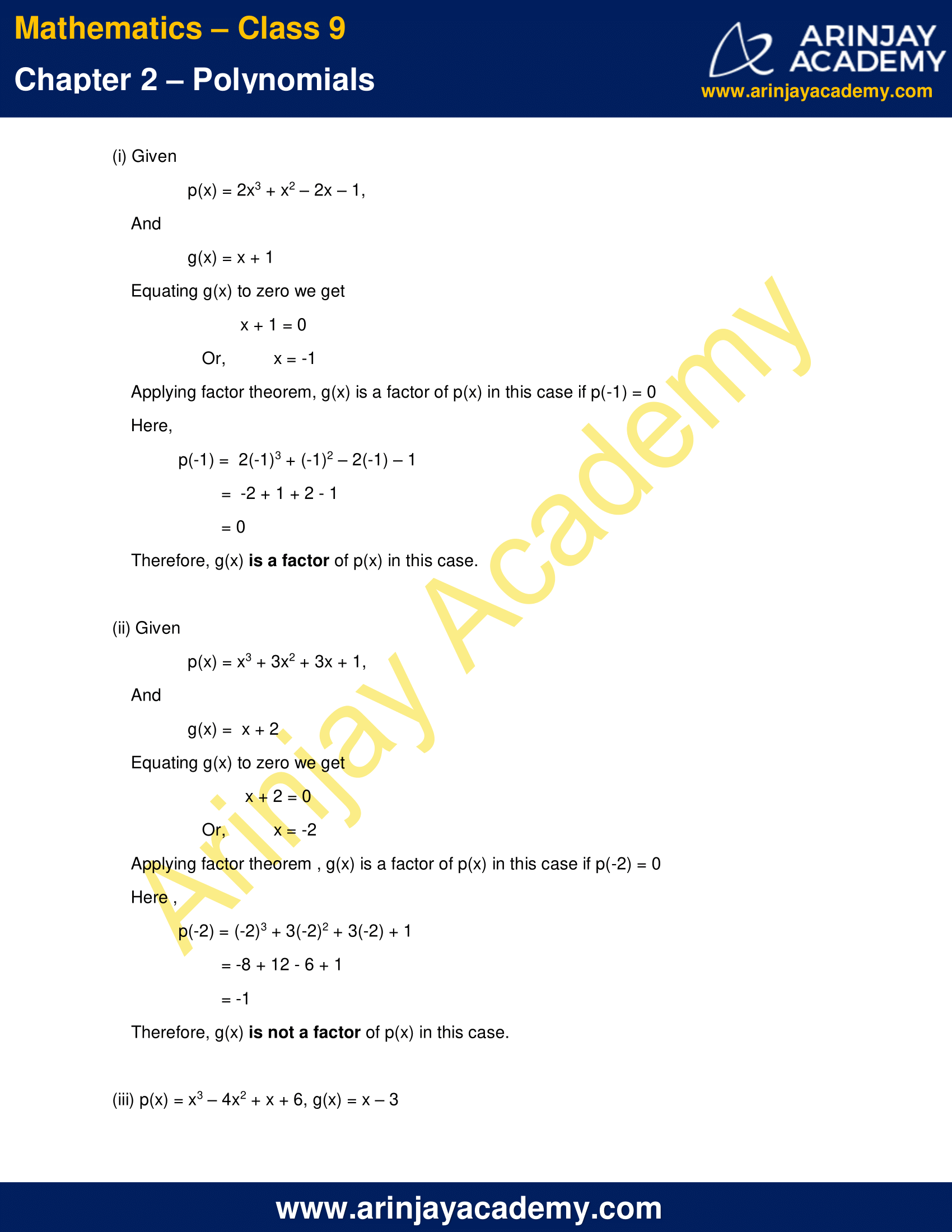 NCERT Solutions for Class 9 Maths Chapter 2 Exercise 2.4 image 3