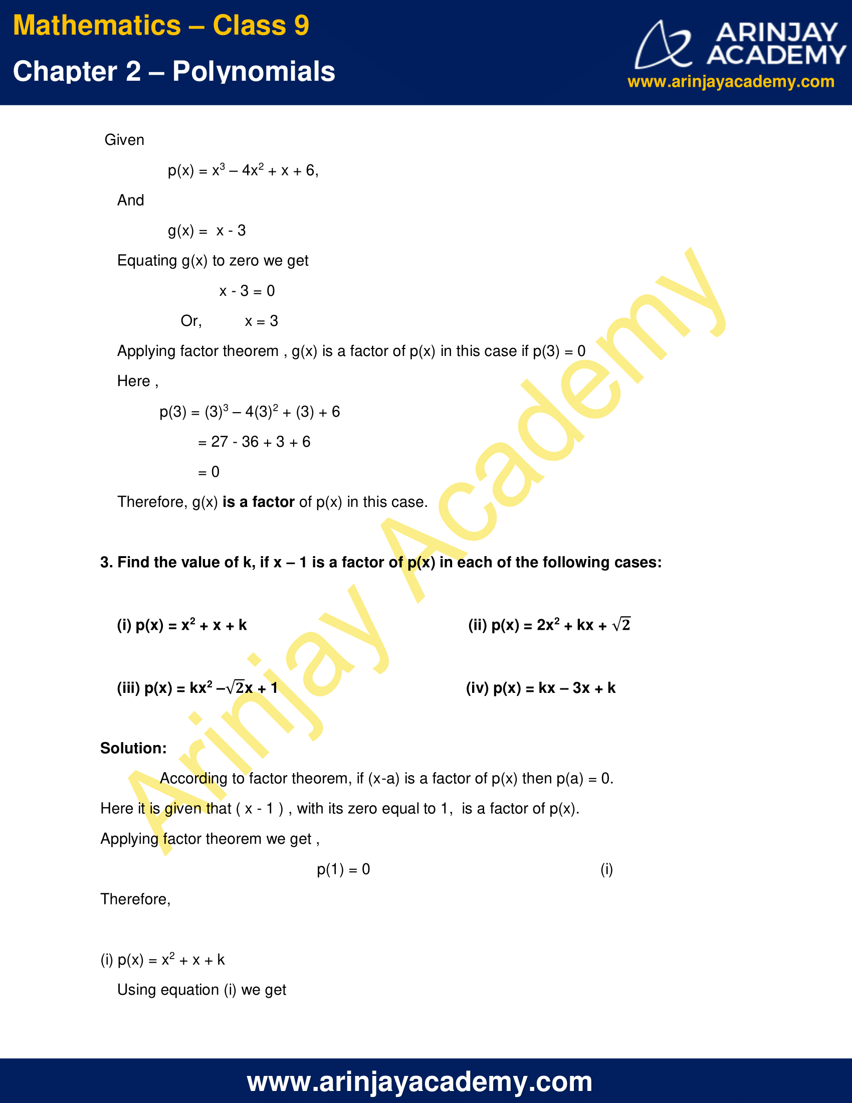 NCERT Solutions for Class 9 Maths Chapter 2 Exercise 2.4 image 4