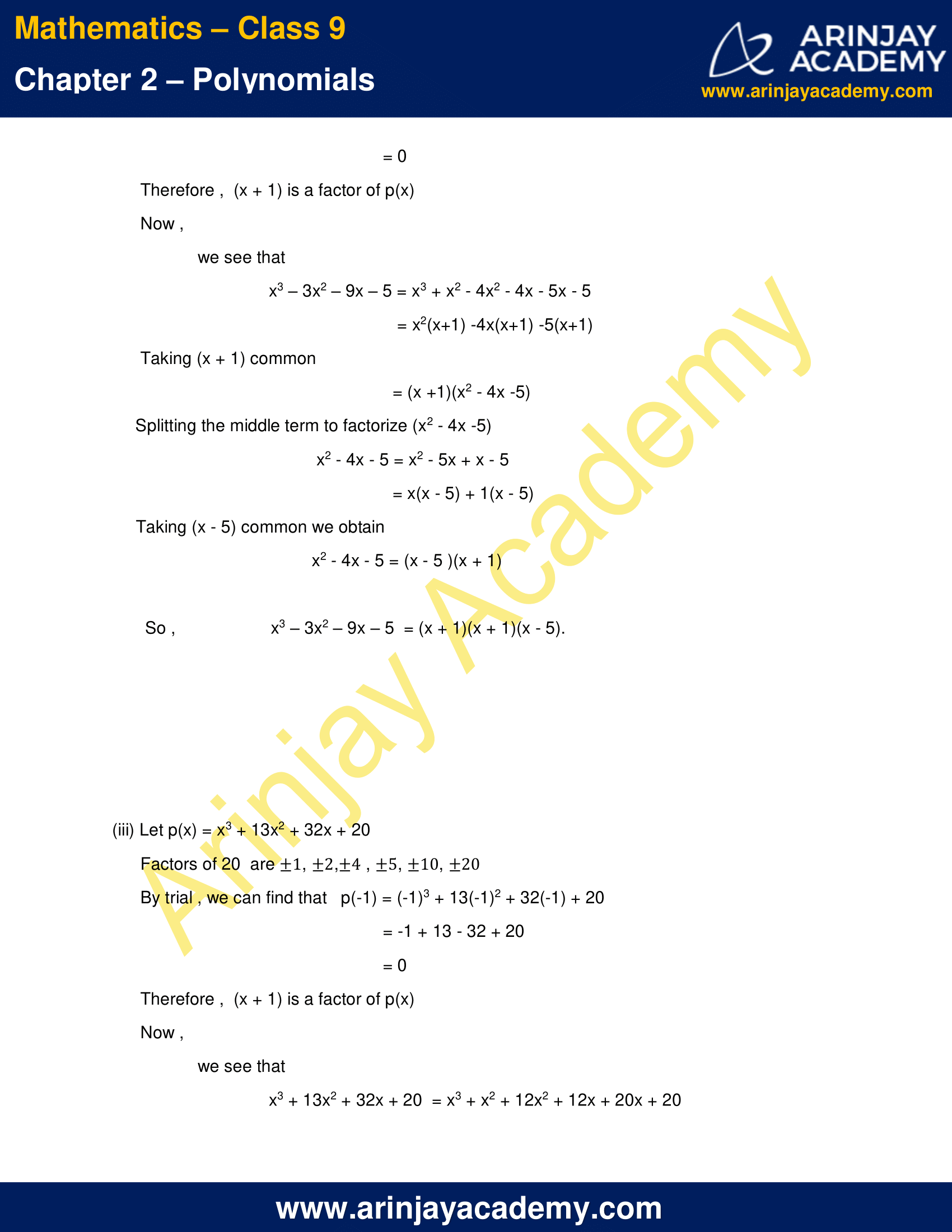 NCERT Solutions for Class 9 Maths Chapter 2 Exercise 2.4 image 9