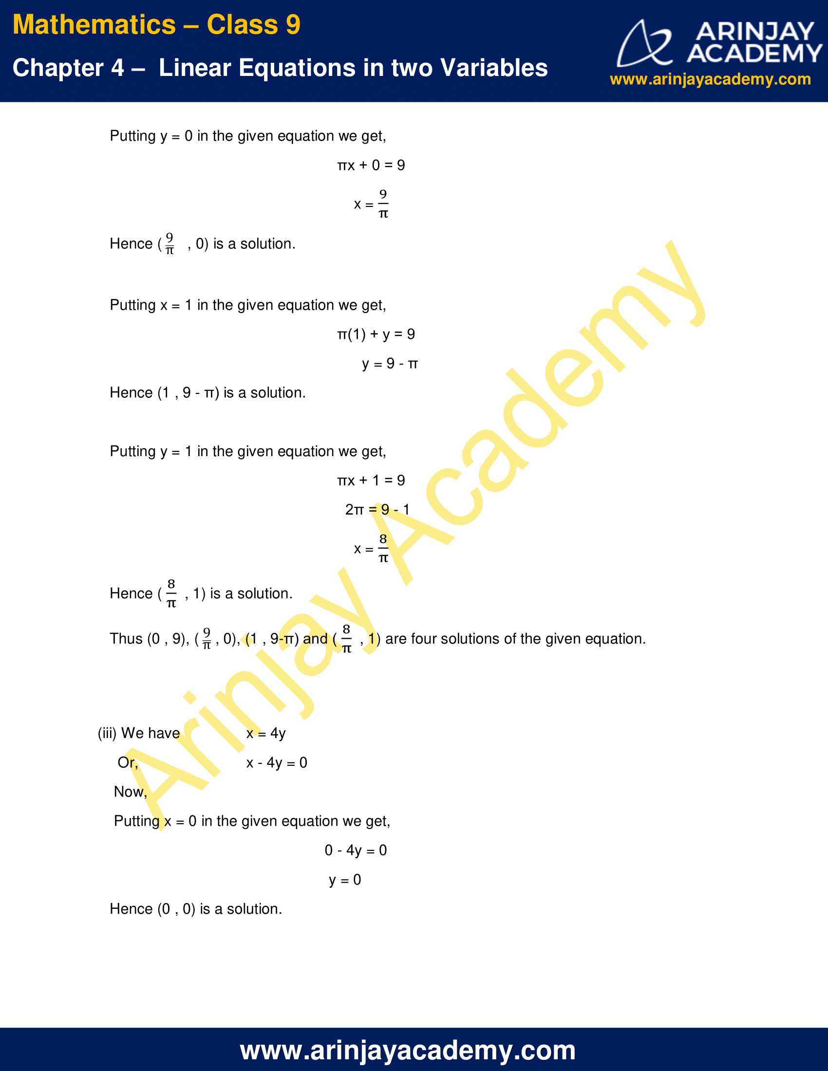 NCERT Solutions for Class 9 Maths Chapter 4 Exercise 4.2 image 3