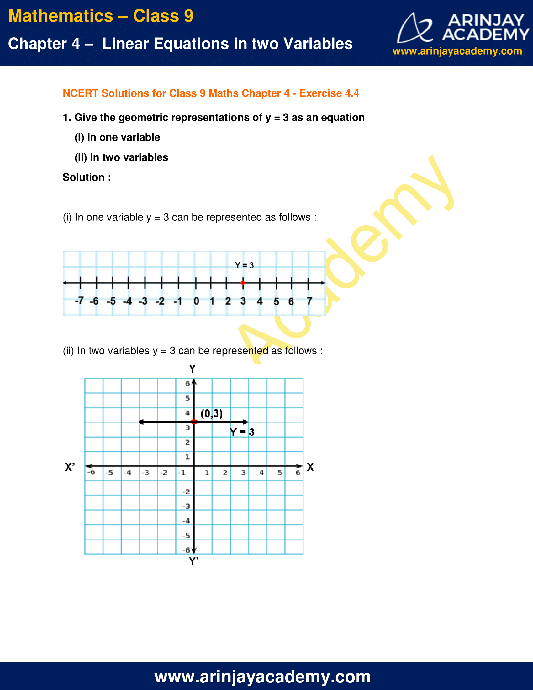 NCERT Solutions for Class 9 Maths Chapter 4 Exercise 4.4 image 1