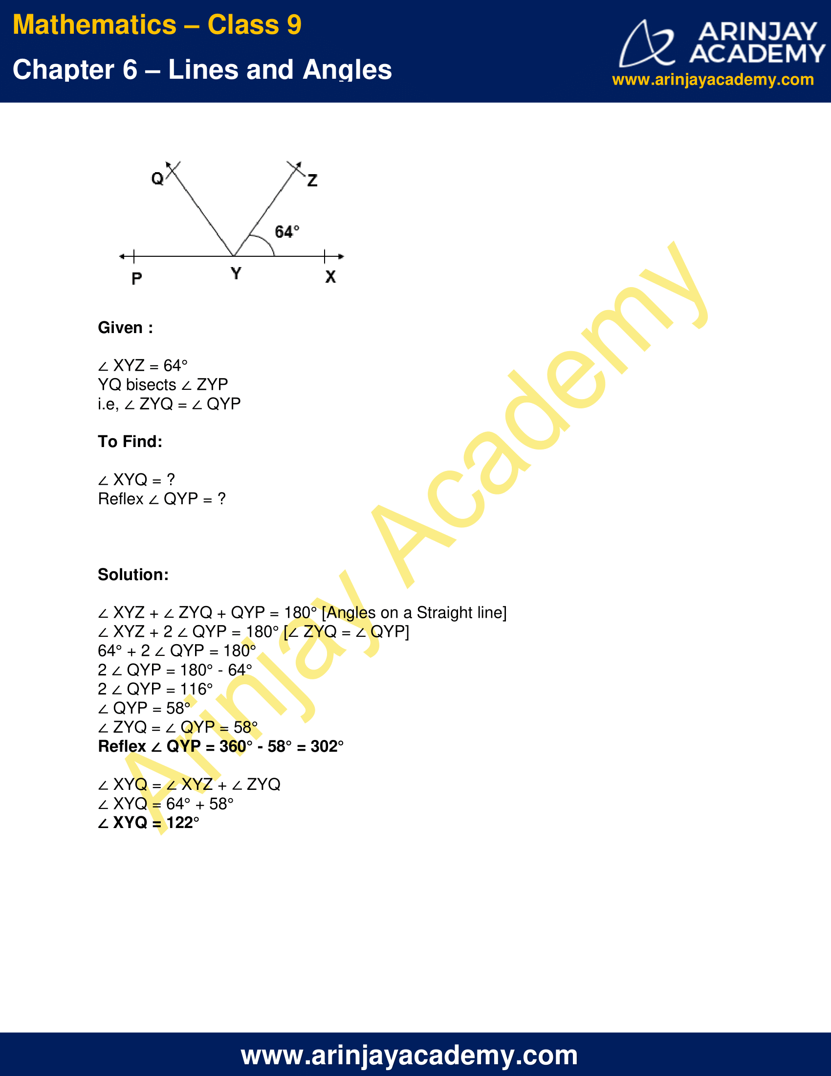 NCERT Solutions for Class 9 Maths Chapter 6 Exercise 6.1 image 6