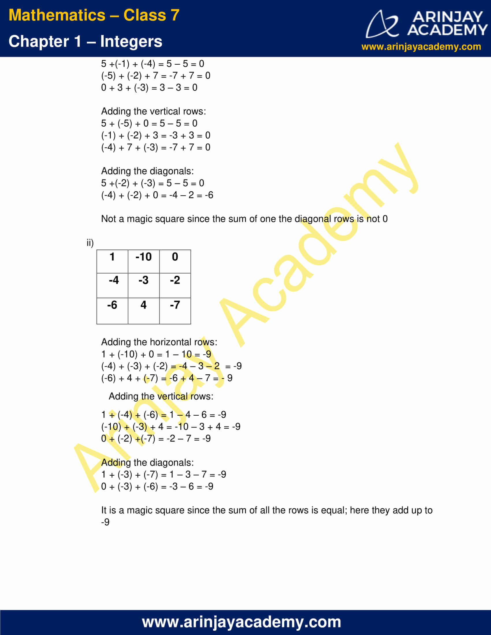 Class 7 Maths NCERT Solutions Chapter 1 Exercise 1.1 image 5