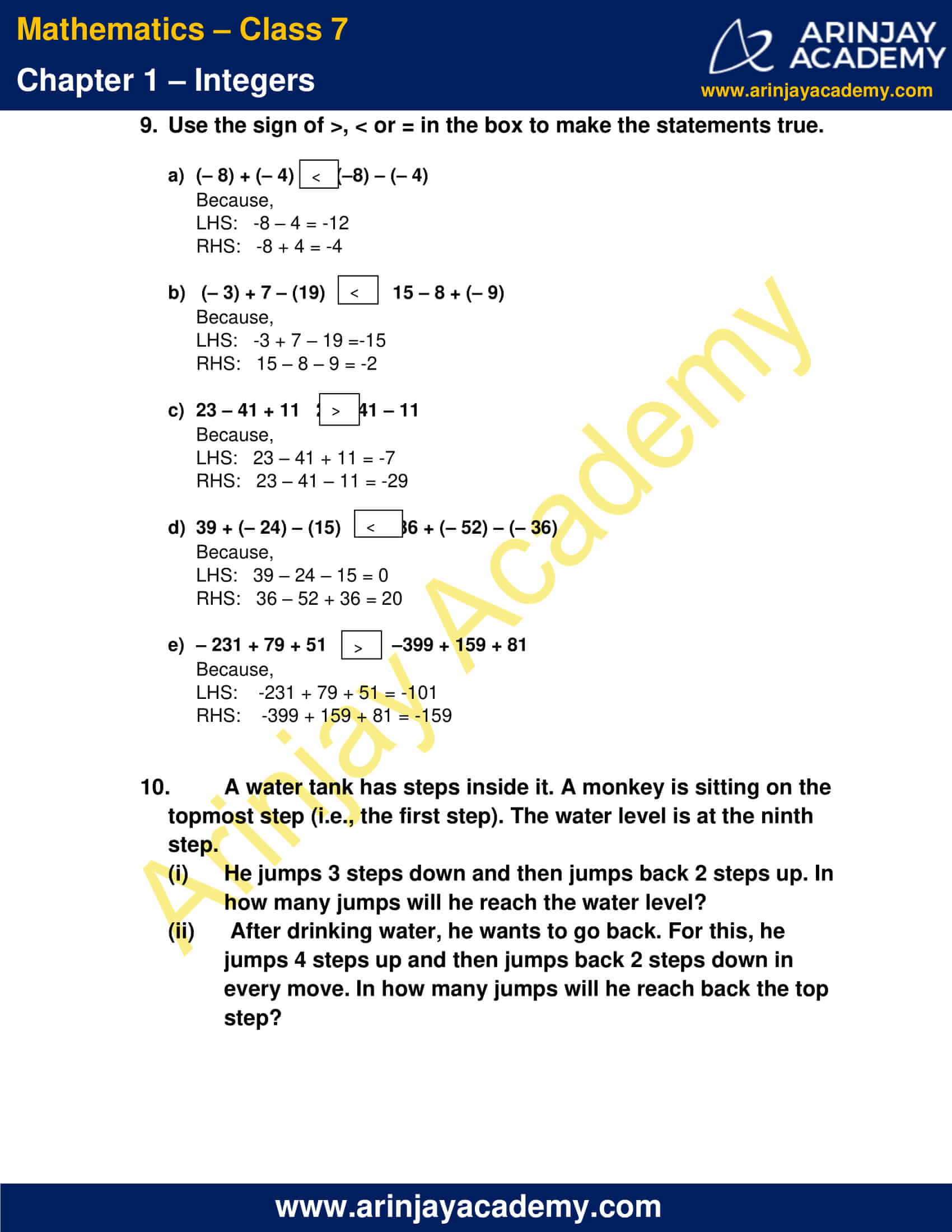 Class 7 Maths NCERT Solutions Chapter 1 Exercise 1.1 image 7