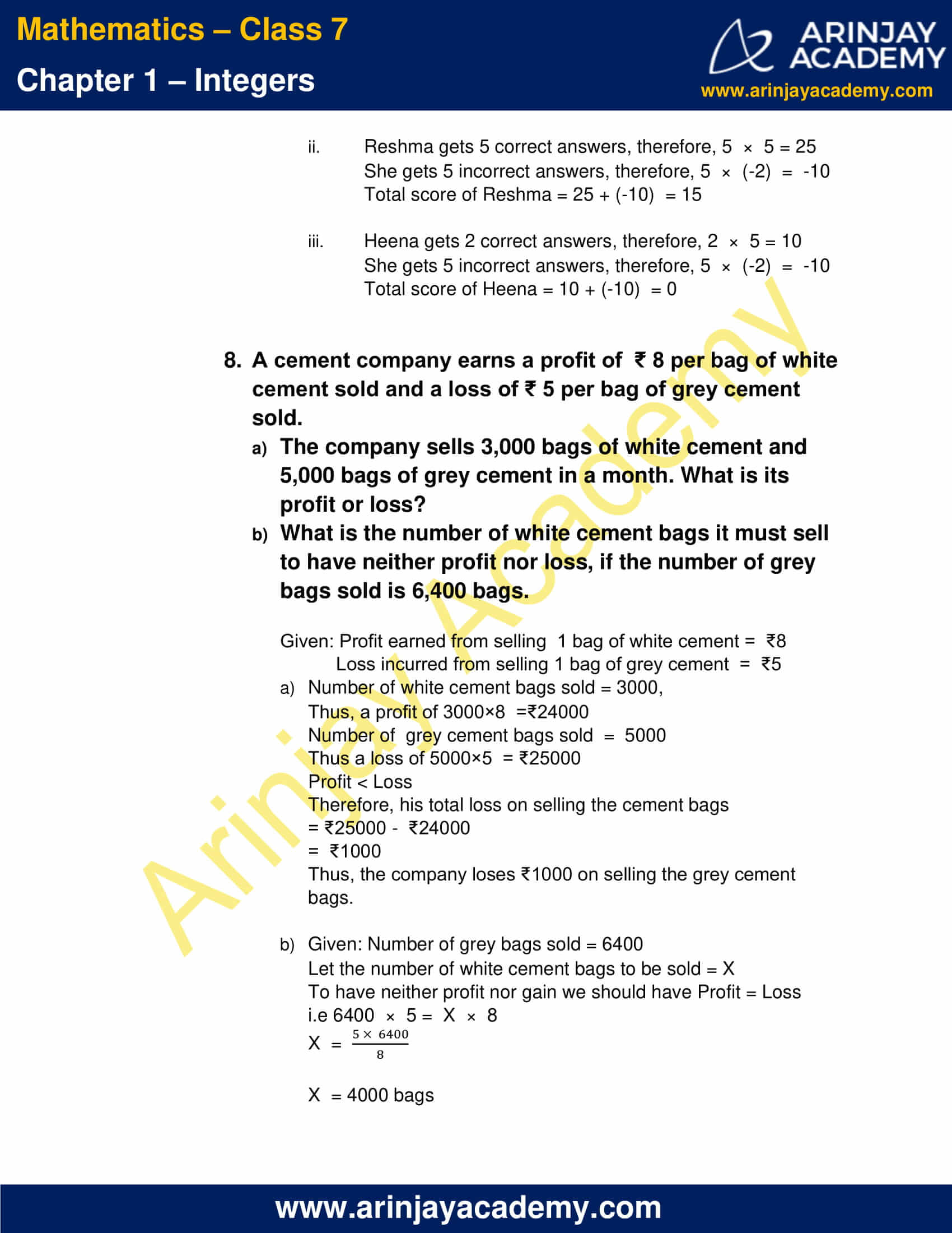 Class 7 Maths NCERT Solutions Chapter 1 Exercise 1.3 image 5