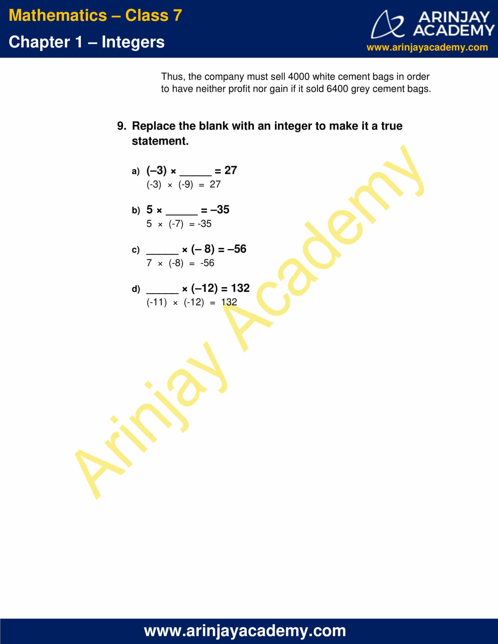 Class 7 Maths NCERT Solutions Chapter 1 Exercise 1.3 image 6