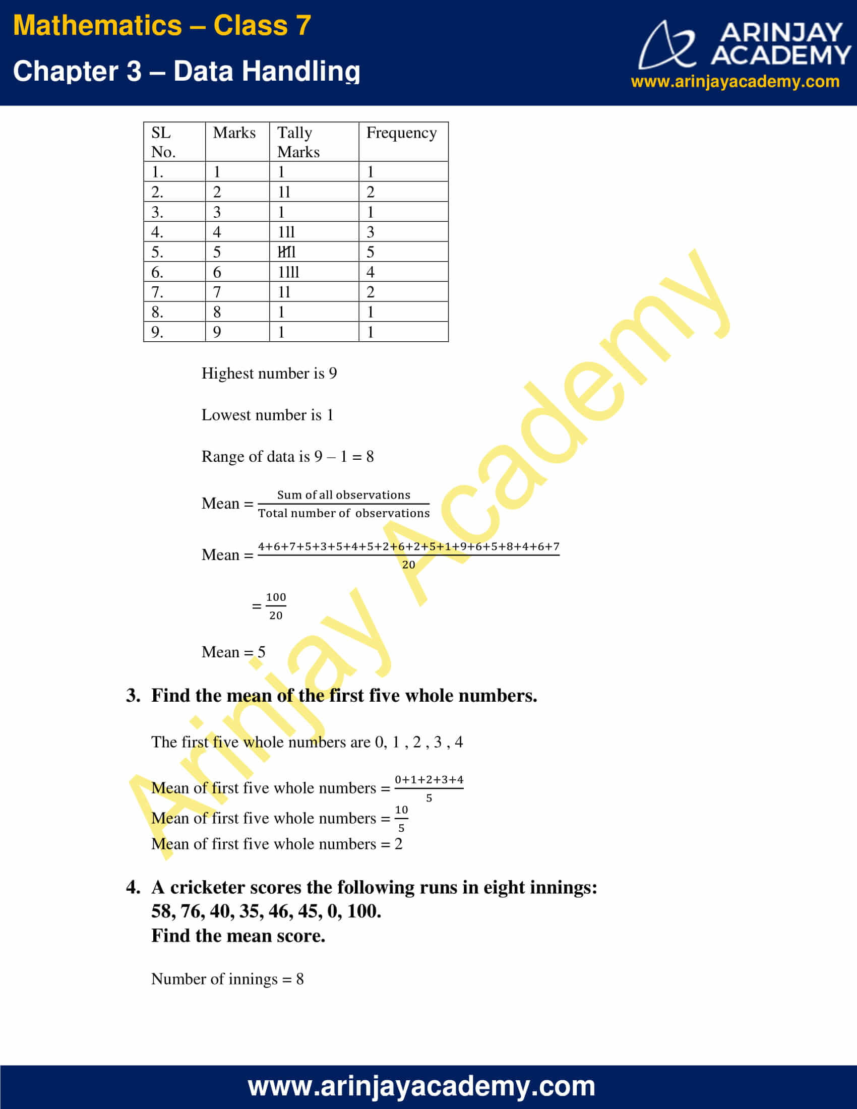 NCERT Solutions for Class 7 Maths Chapter 3 Exercise 3.1 image 2