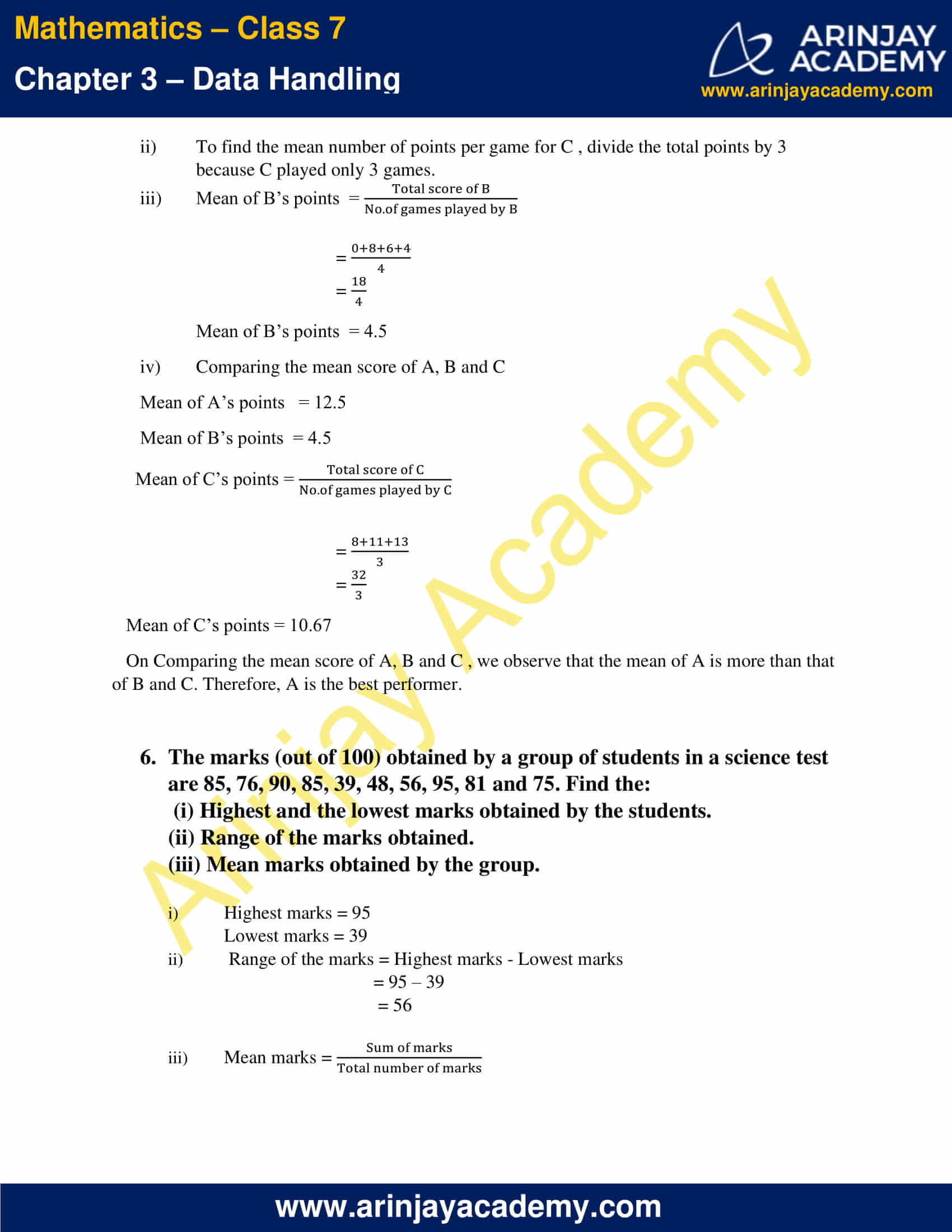 NCERT Solutions for Class 7 Maths Chapter 3 Exercise 3.1 image 4