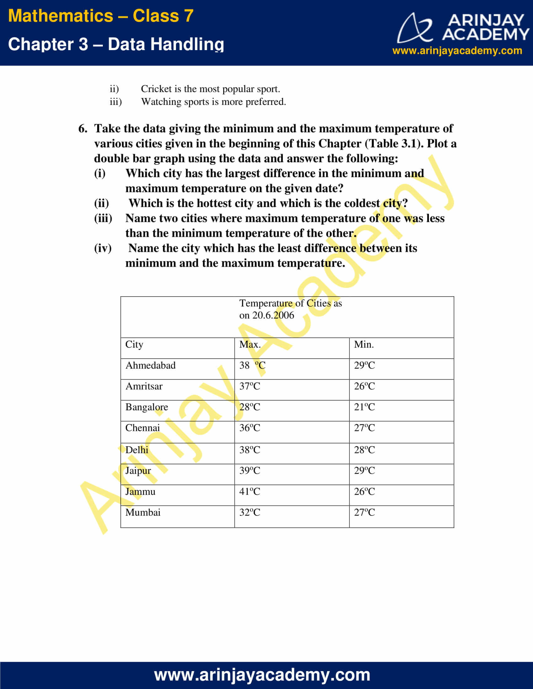 NCERT Solutions for Class 7 Maths Chapter 3 Exercise 3.3 image 6