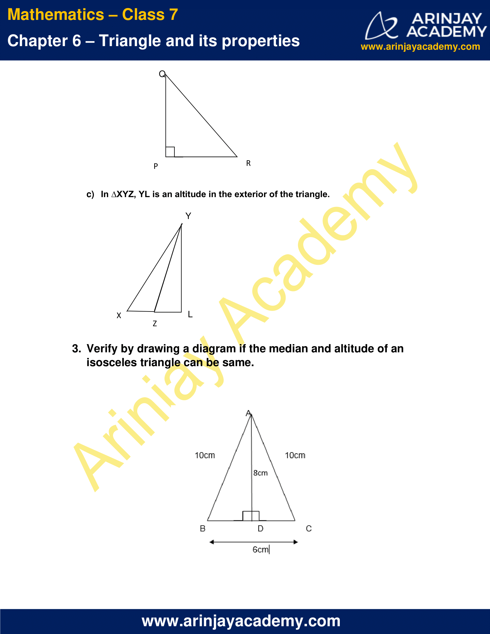 NCERT Solutions for Class 7 Maths Chapter 6 Exercise 6.1 image 2