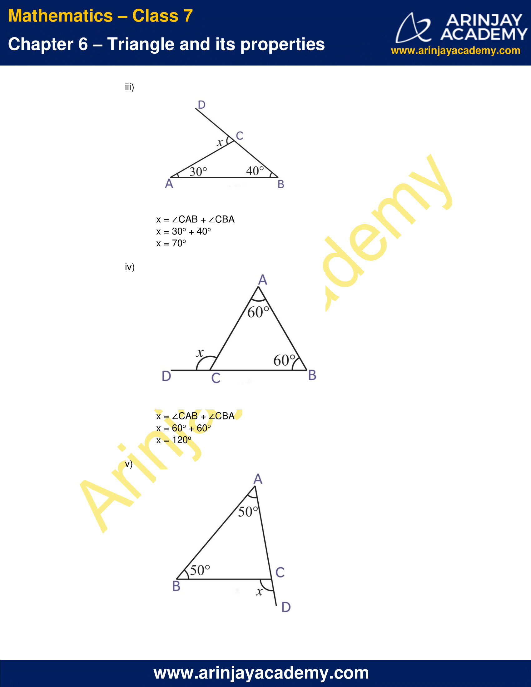 NCERT Solutions for Class 7 Maths Chapter 6 Exercise 6.2 image 2