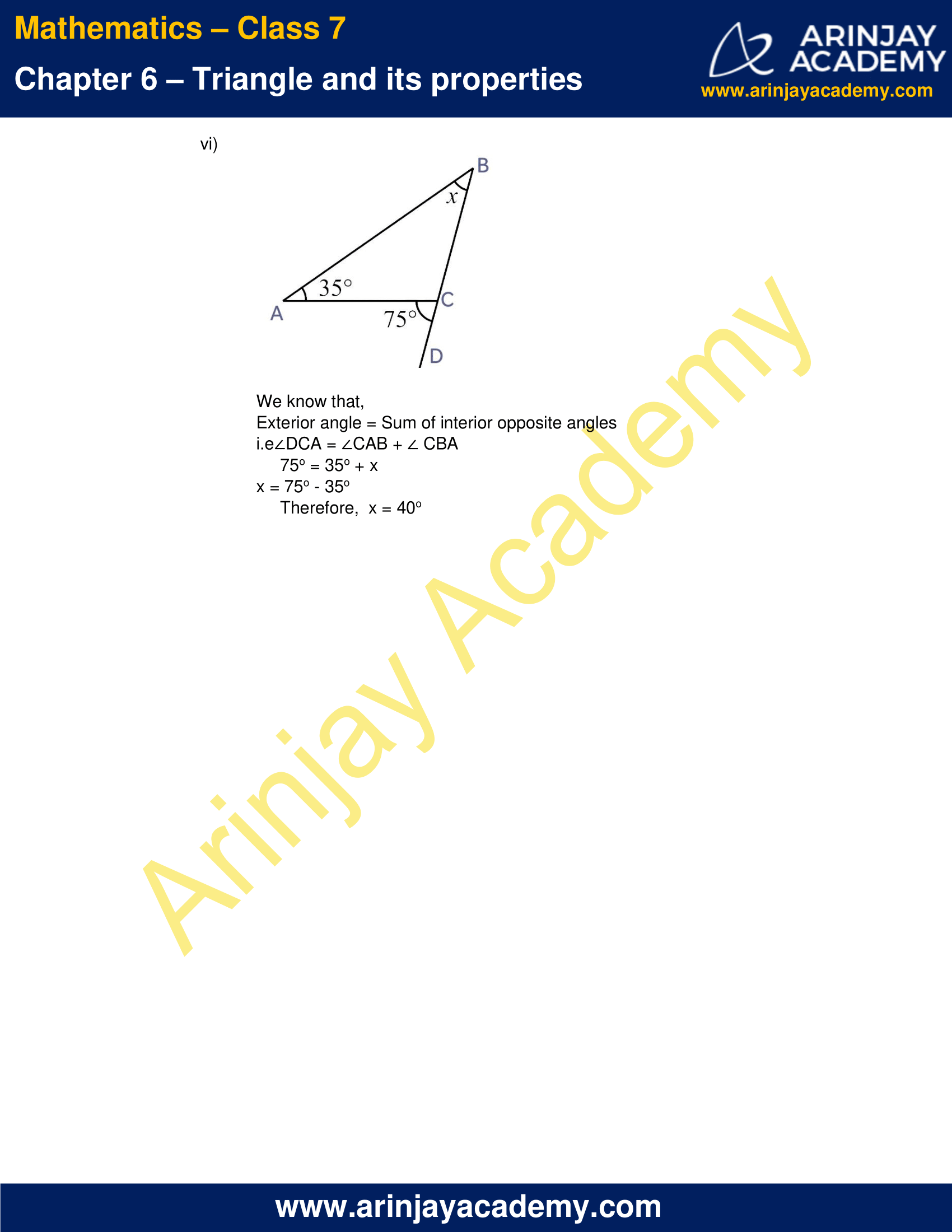 NCERT Solutions for Class 7 Maths Chapter 6 Exercise 6.2 image 6