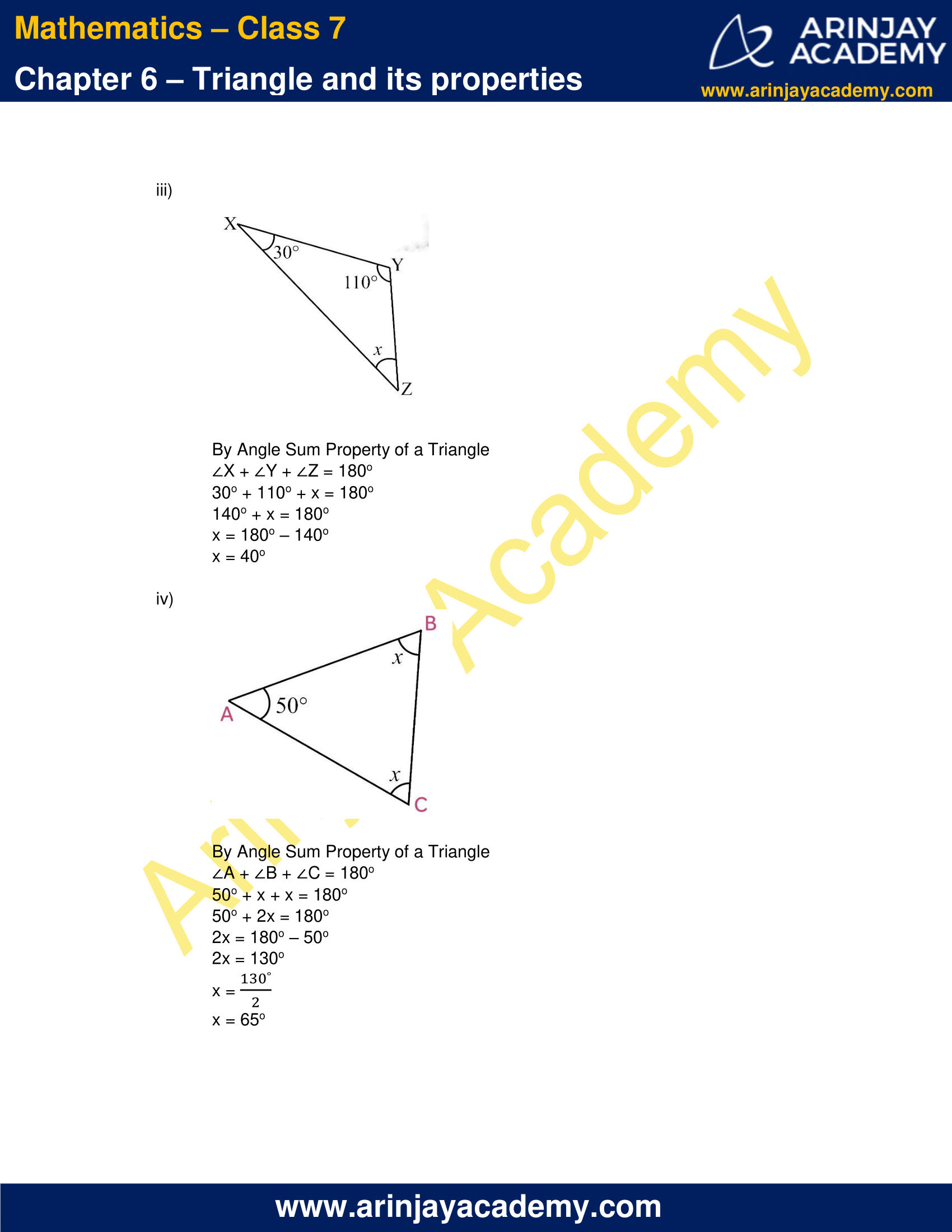 NCERT Solutions for Class 7 Maths Chapter 6 Exercise 6.3 image 2