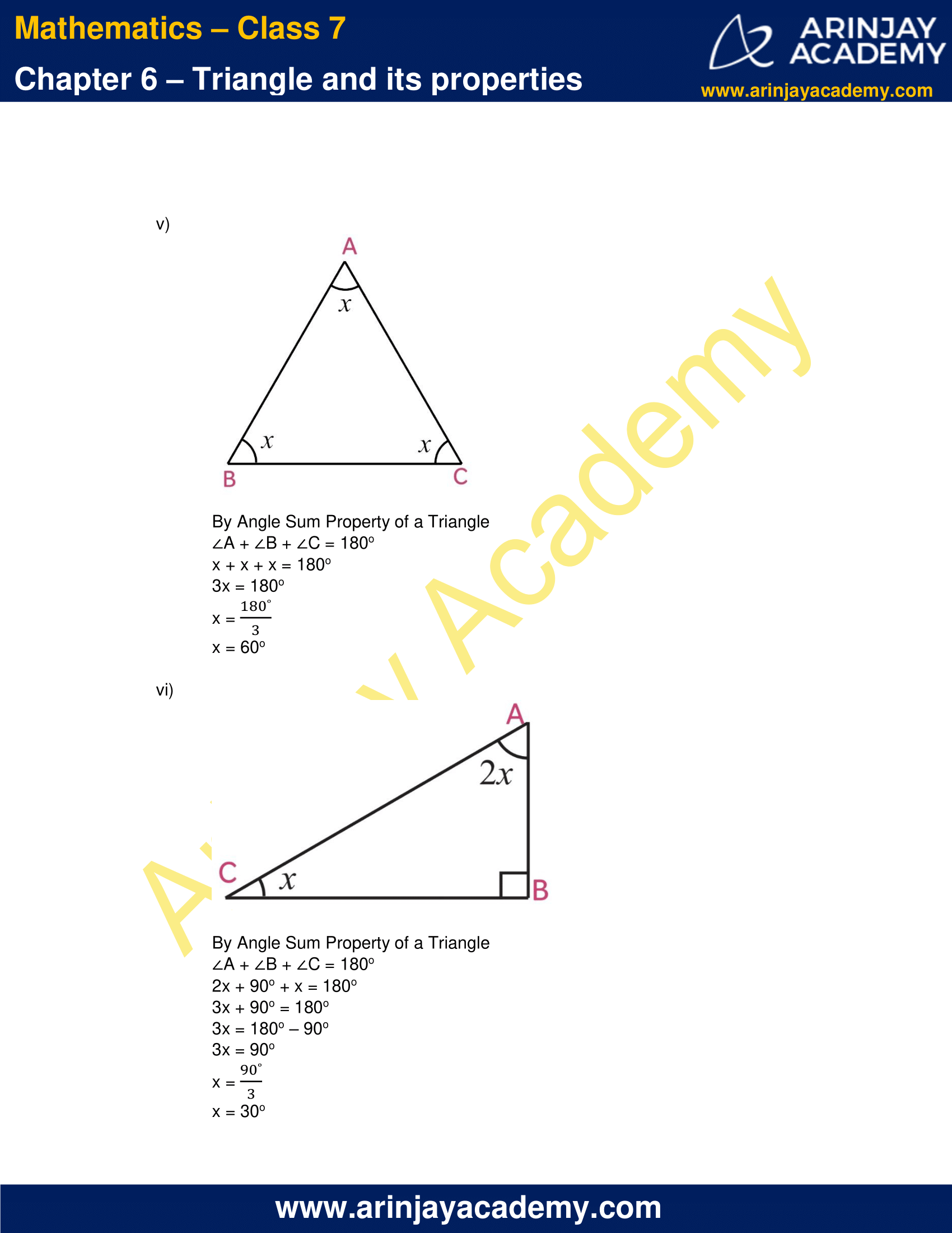 NCERT Solutions for Class 7 Maths Chapter 6 Exercise 6.3 image 3