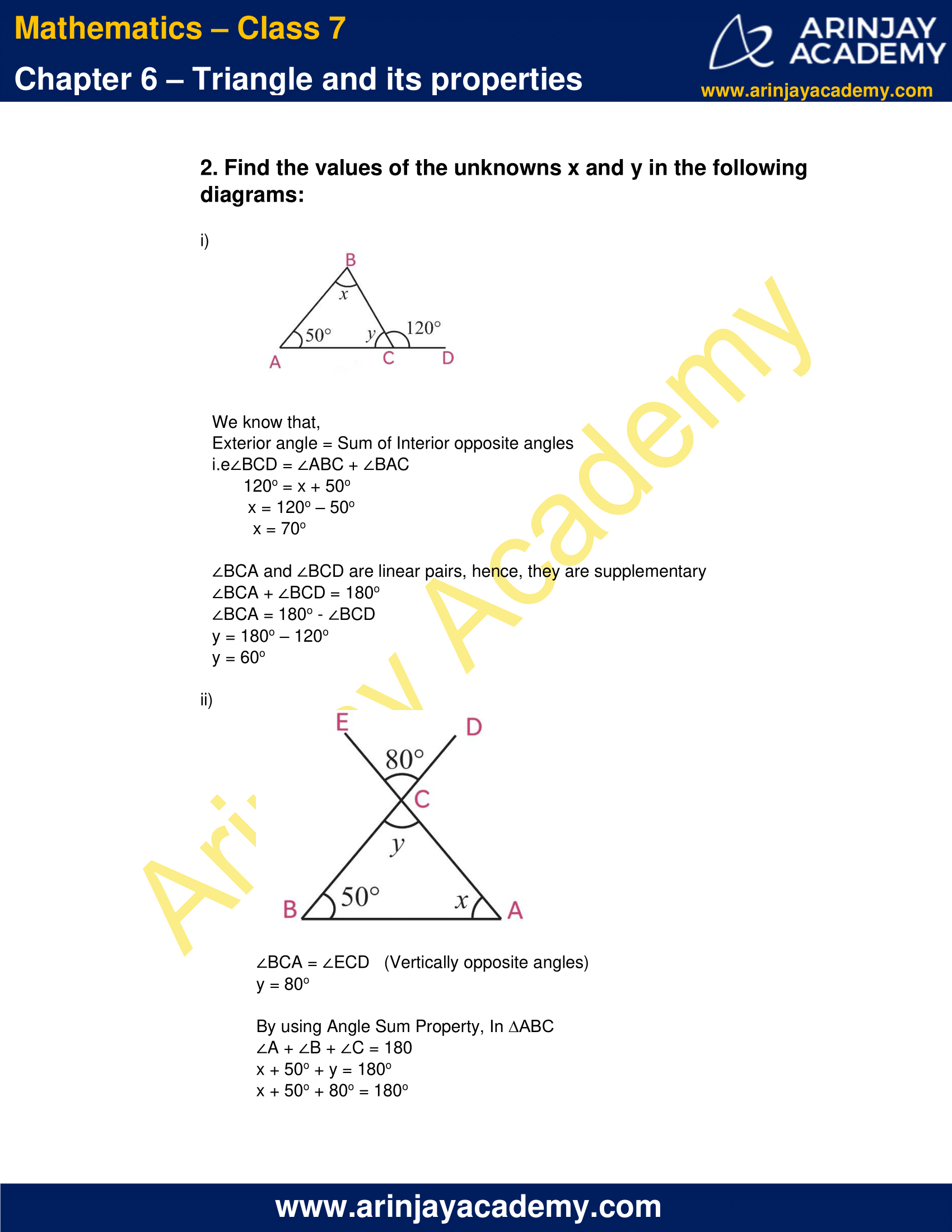 NCERT Solutions for Class 7 Maths Chapter 6 Exercise 6.3 image 4