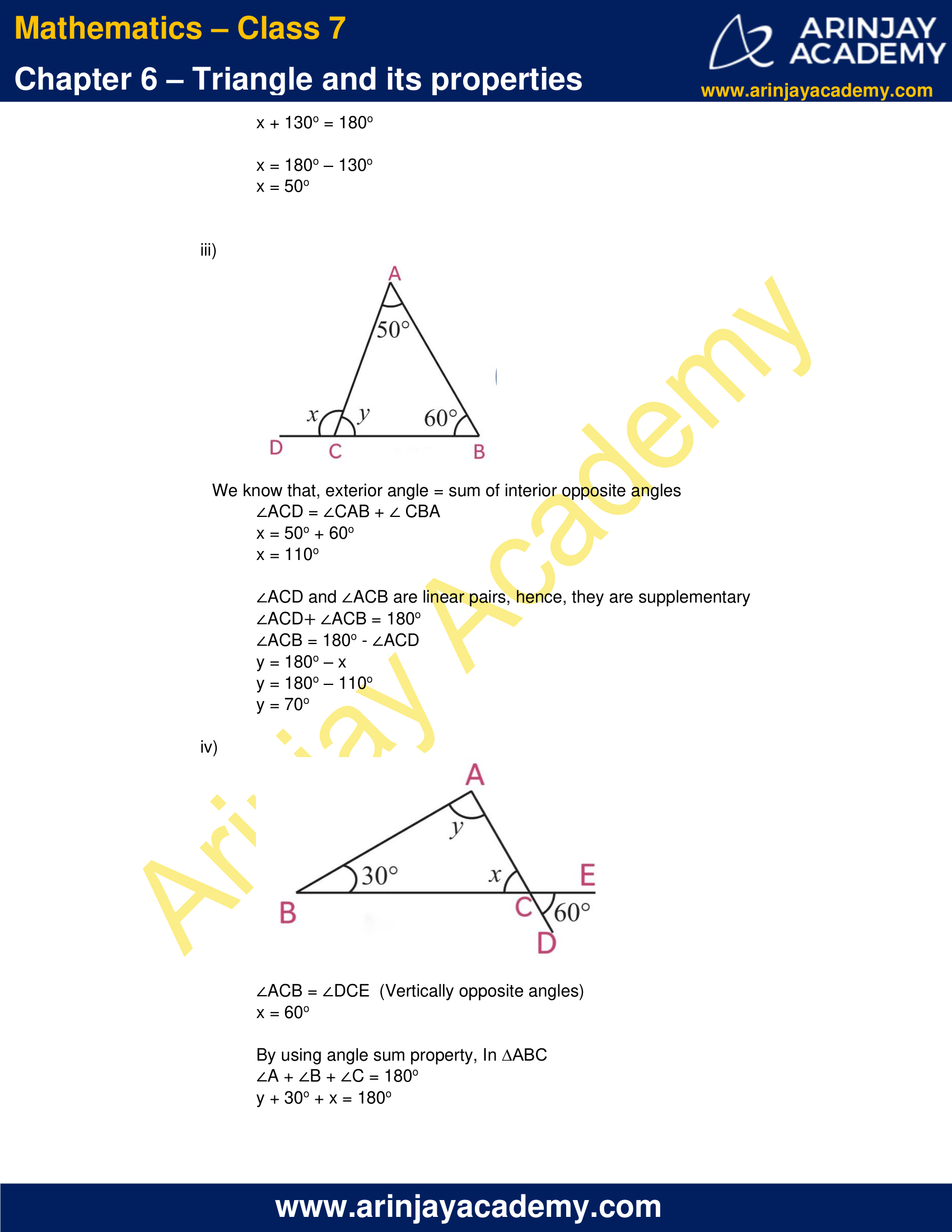 NCERT Solutions for Class 7 Maths Chapter 6 Exercise 6.3 image 5