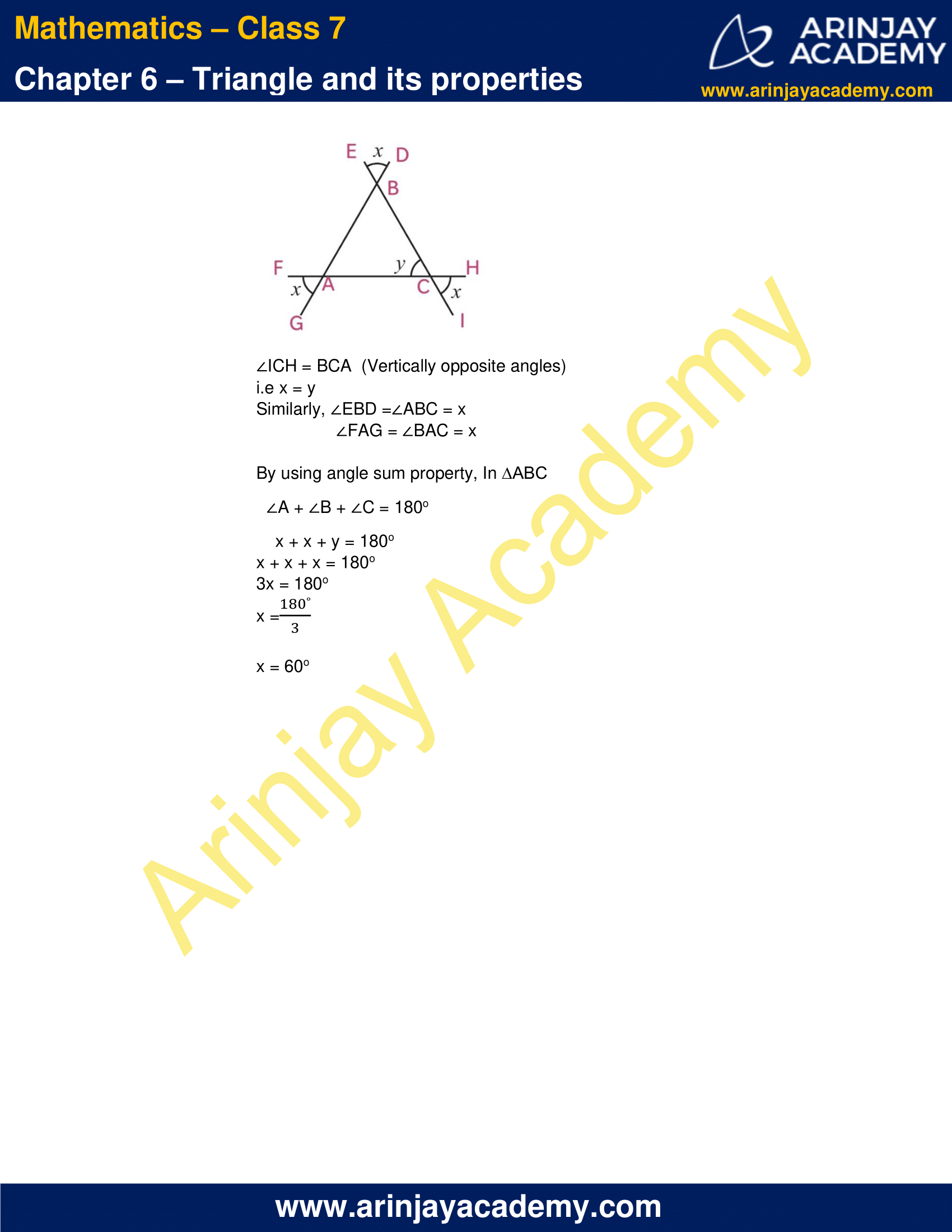 NCERT Solutions for Class 7 Maths Chapter 6 Exercise 6.3 image 7
