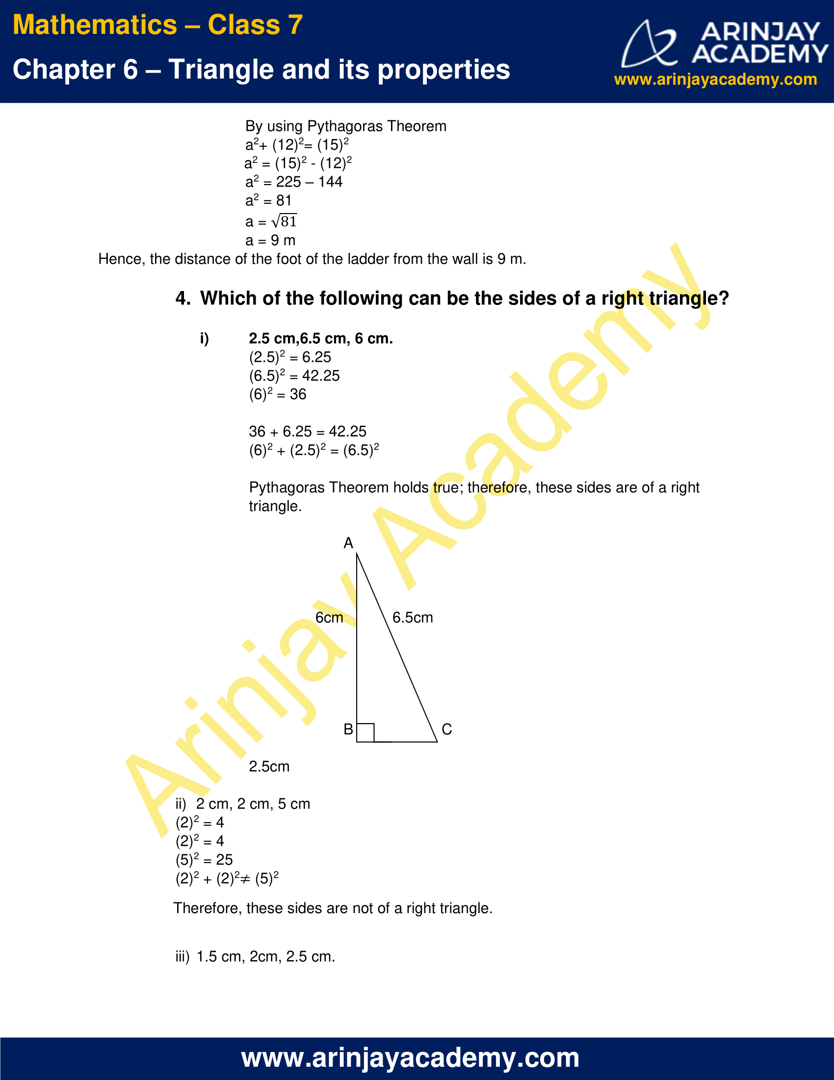 NCERT Solutions for Class 7 Maths Chapter 6 Exercise 6.5 image 3