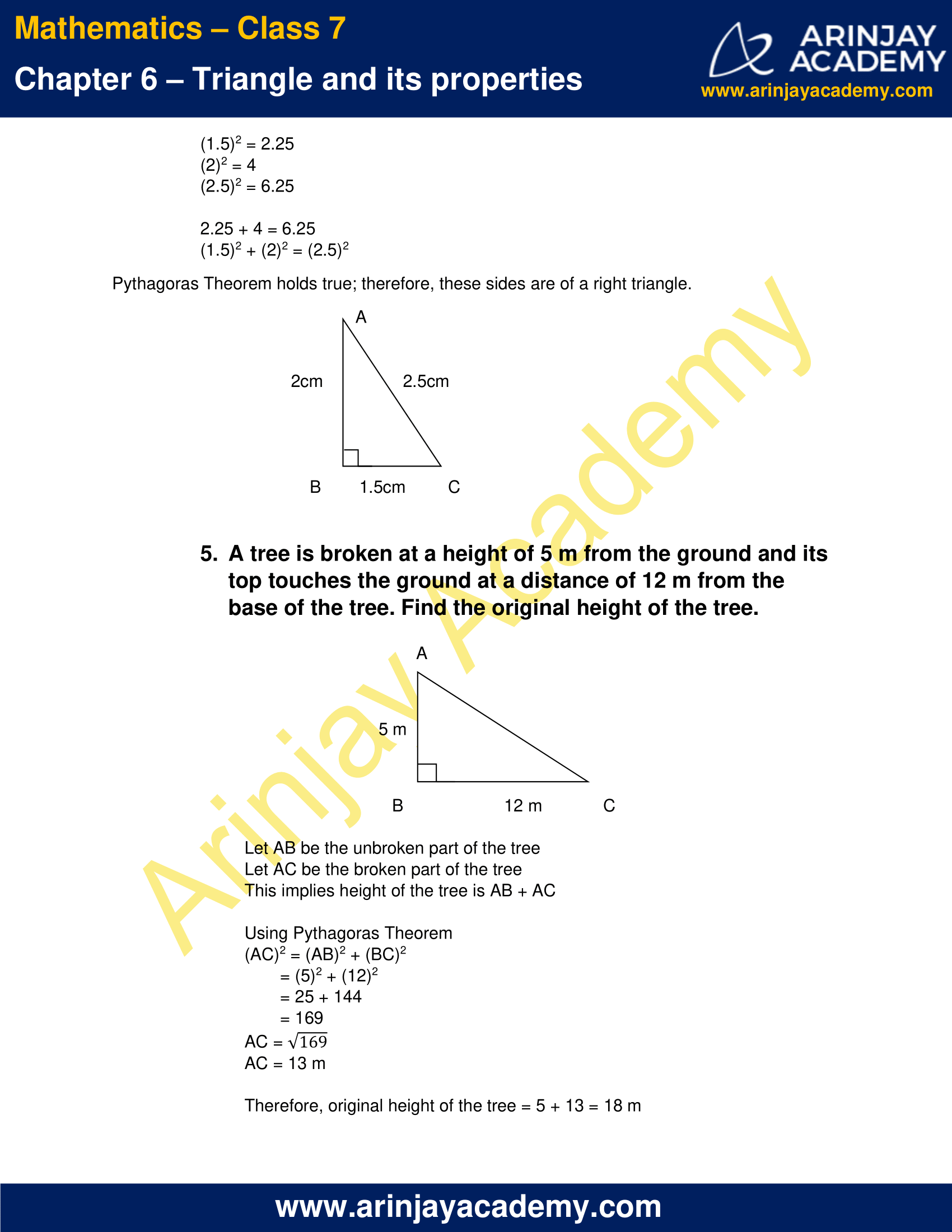 NCERT Solutions for Class 7 Maths Chapter 6 Exercise 6.5 image 4