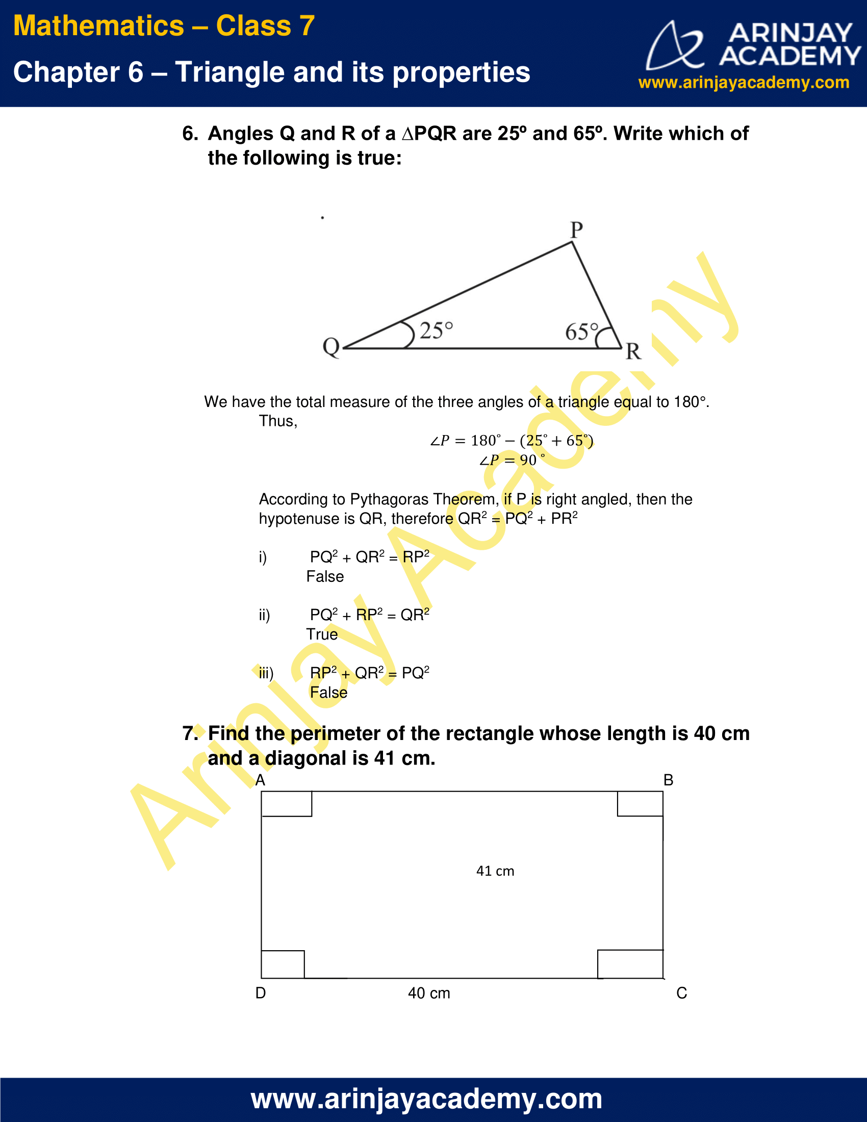 NCERT Solutions for Class 7 Maths Chapter 6 Exercise 6.5 image 5