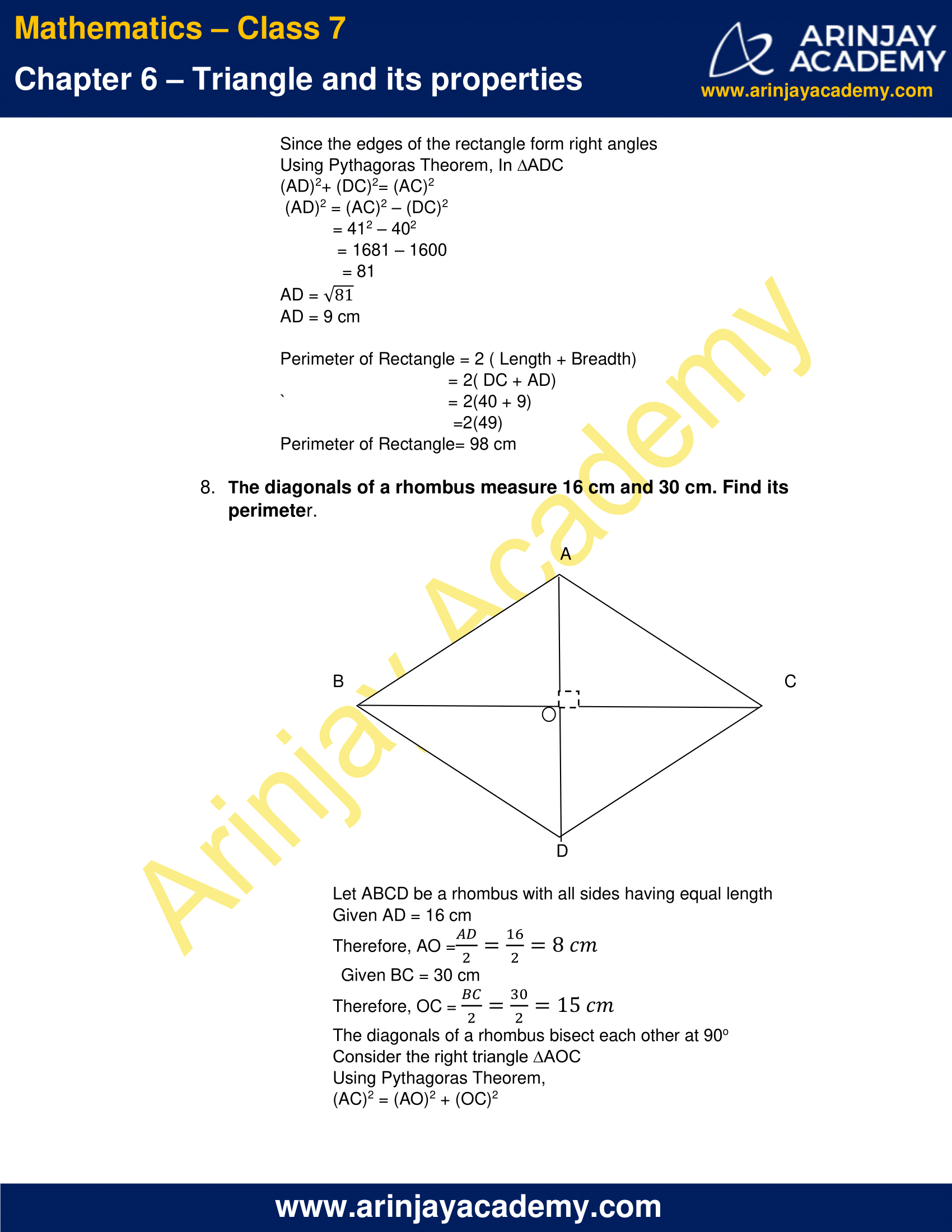 NCERT Solutions for Class 7 Maths Chapter 6 Exercise 6.5 image 6