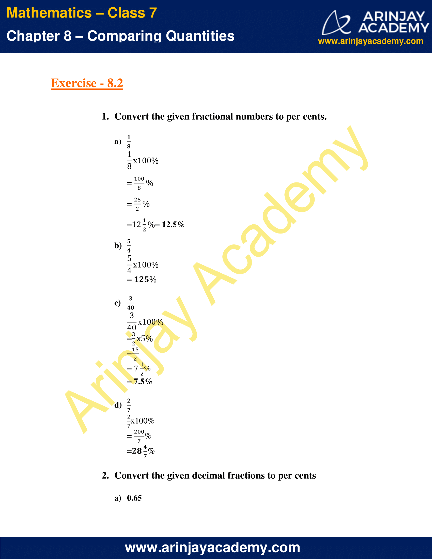 NCERT Solutions for Class 7 Maths Chapter 8 Exercise 8.2 image 1