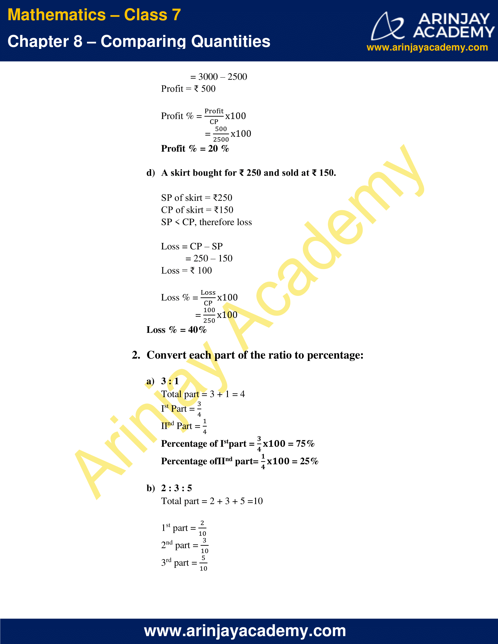 NCERT Solutions for Class 7 Maths Chapter 8 Exercise 8.3 image 2