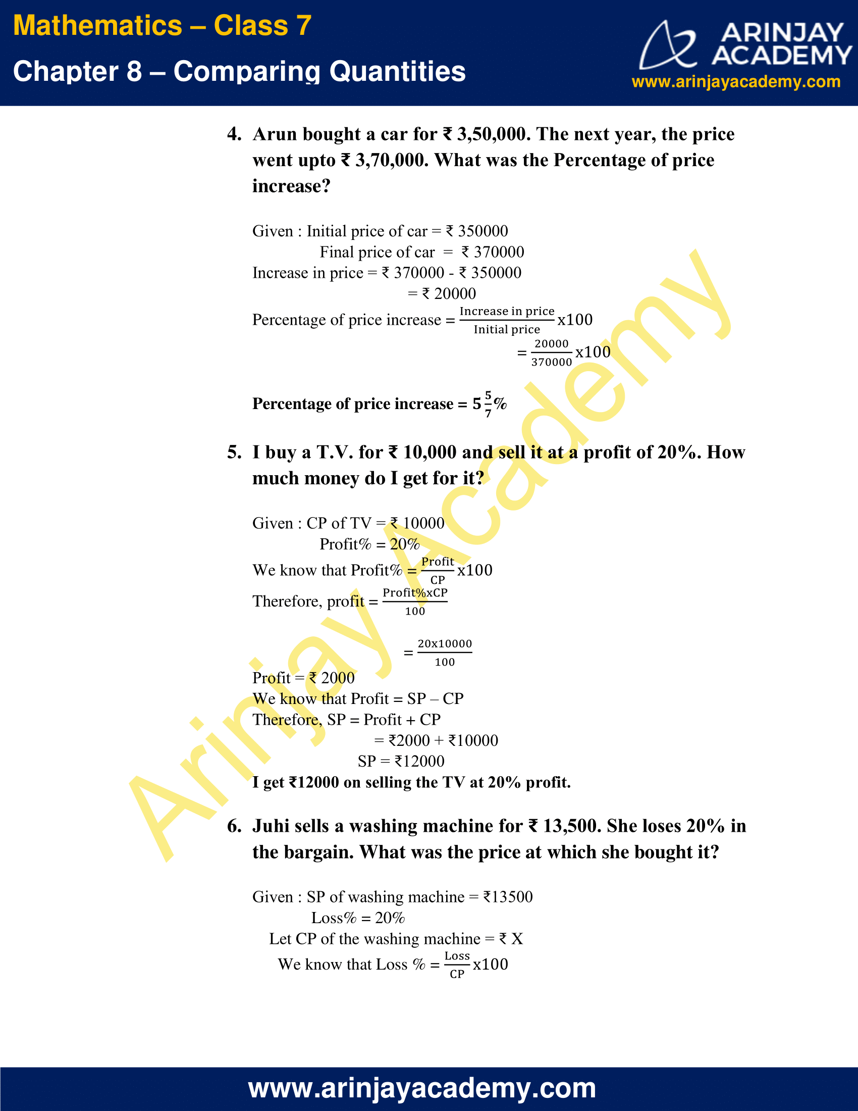 NCERT Solutions for Class 7 Maths Chapter 8 Exercise 8.3 image 4